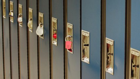 New blue lockers at LMS still unavailable.
